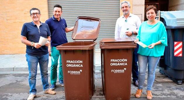 marcha prueba piloto recogida y reciclaje materia orgánica Villarreal