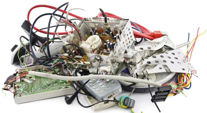 9% basura electrónica mundial es generada América Latina