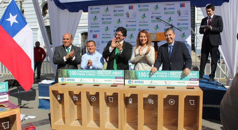 "Valparaíso acoge iniciativa ""100 contenedores Chile"""