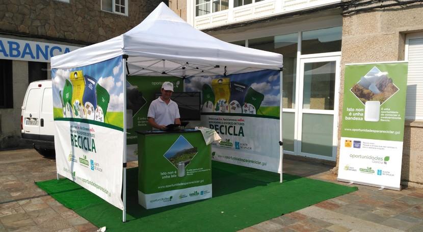 O Grove, Rodeiro y Lama, próximos destinos Pontevedra campaña autonómica reciclaje