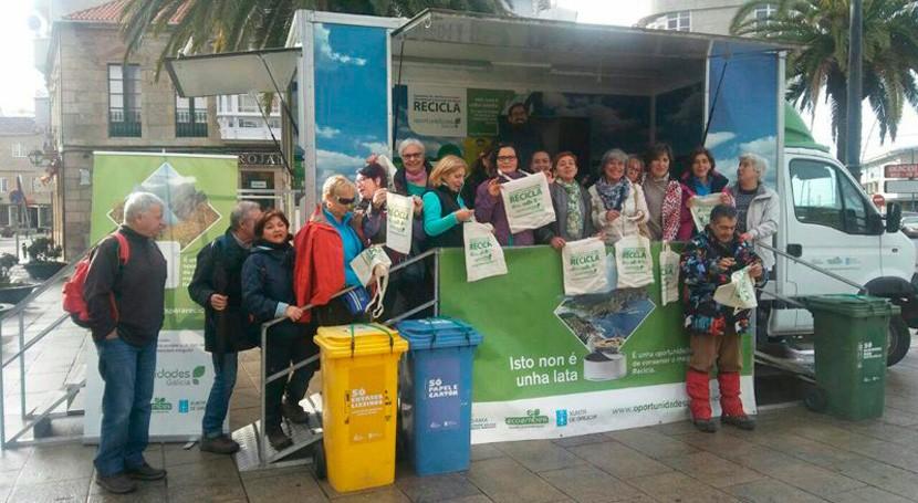 """""""Oportunidades Galicia"""" instruirá materia reciclaje Baña, Ribeira, Vedra y Mazaricos"""