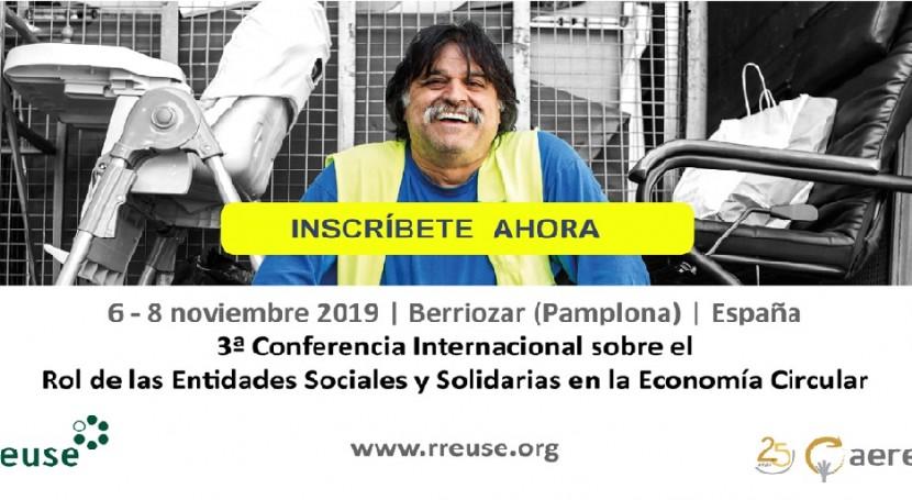 AERESS participa organización 3ª Conferencia Internacional RREUSE