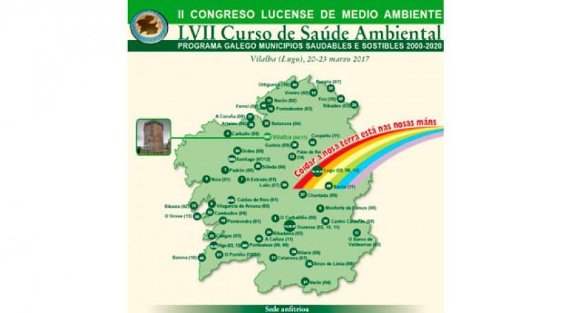 concello lucense Vilalba, escenario Congreso Medio Ambiente Galicia