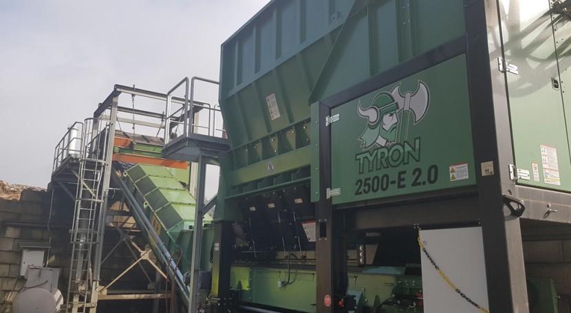 Nueva trituradora HAAS TYRON 2500 V.2.0
