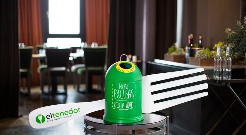 Hosteleros y ciudadanos aprenden importancia y beneficios reciclado vidrio