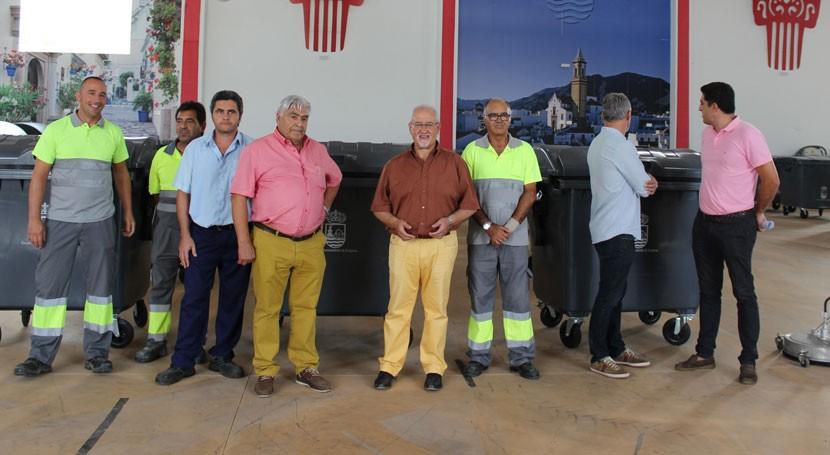 300 nuevos contenedores reforzaran servicio limpieza Estepona