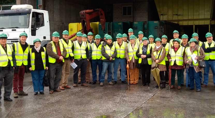 vecinos As Pontes repiten visita planta transferencia residuos Narón