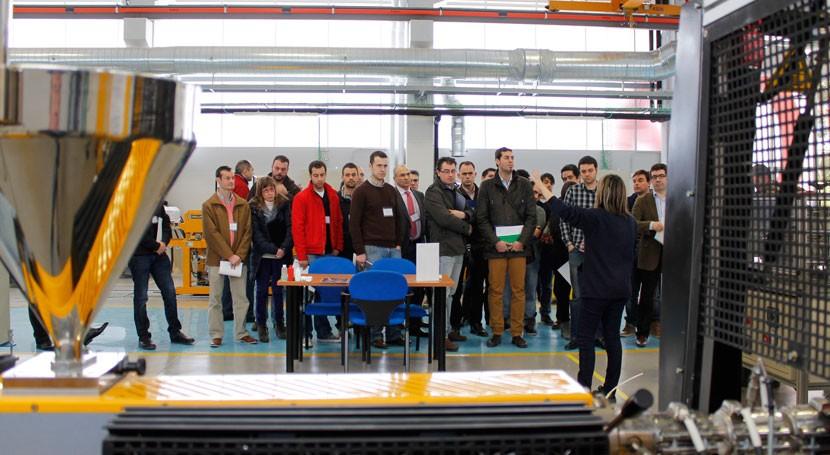AIMPLAS inaugura nuevo edificio I+D+i materiales jornada demostración