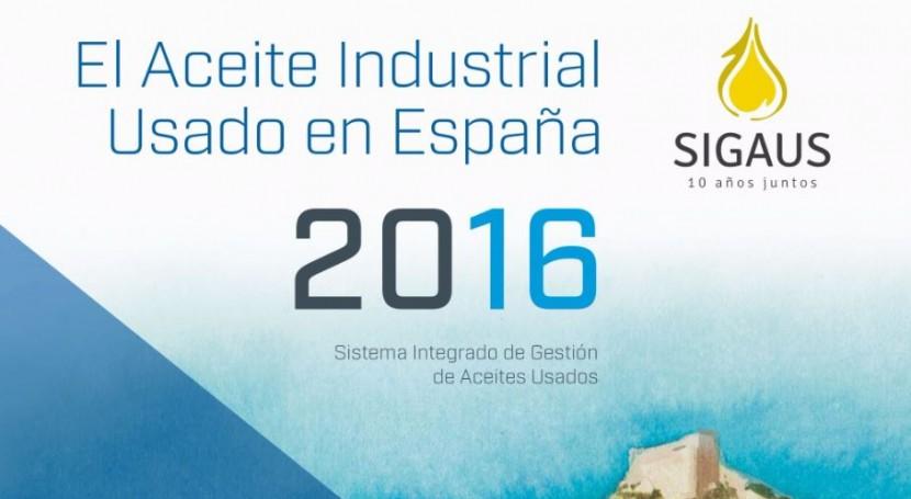 aceite industrial usado España: Análisis particularidades este residuo