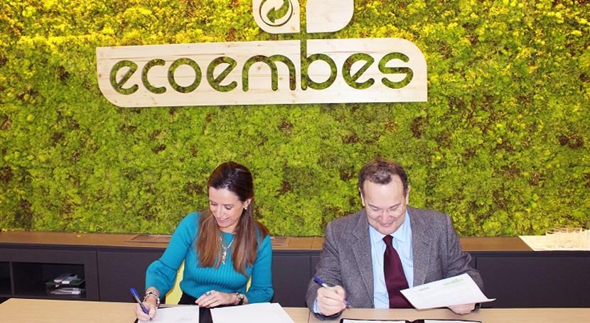 UNIR y Ecoembes promoverán juntos educación medioambiental y reciclaje
