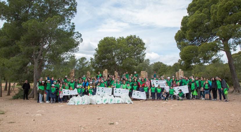 Voluntariado Verde Cicloplast y AIMPLAS organiza actividad sensibilización ambiental