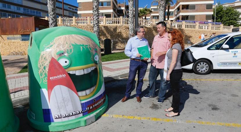 marcha campaña estival reciclaje vidrio l'Alfàs Pi