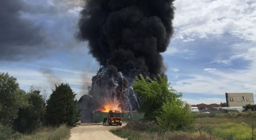 Ecologistas piden extremar precauciones explosión planta residuos Arganda