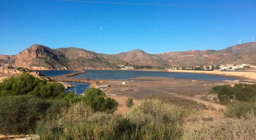 bahía Portmán sigue liberando metales 25 años después cese actividad minera