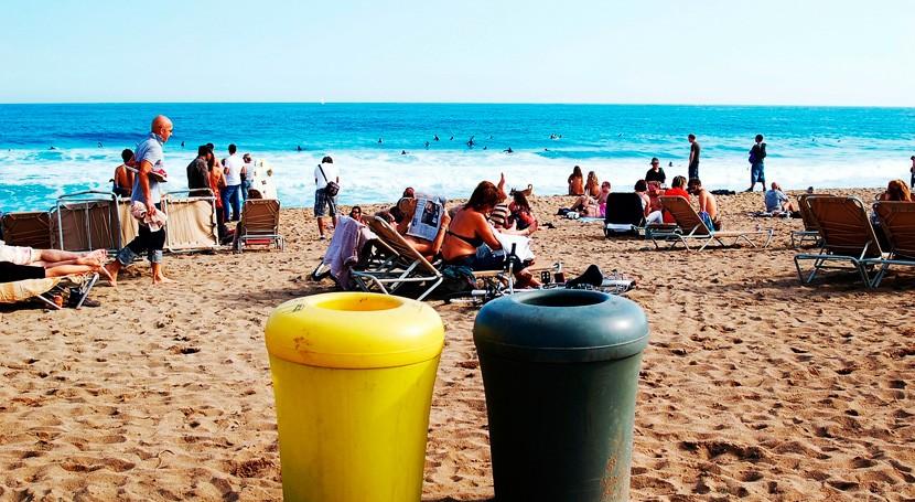 costa Barcelona, segunda más plástico Mediterráneo