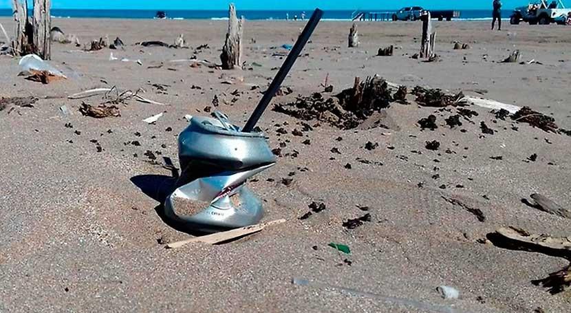 ¿Podemos determinar satelitalmente cantidad desechos playas?