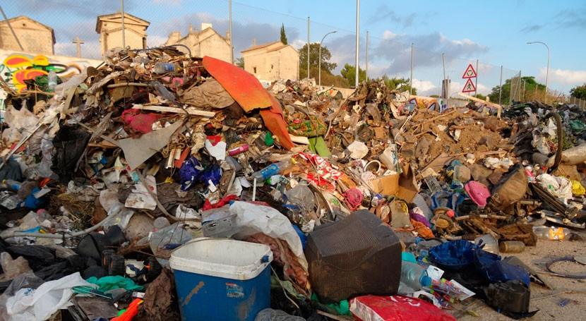LIBERA y SEO-Virot denuncian acumulación basuraleza torrentes Palma Mallorca