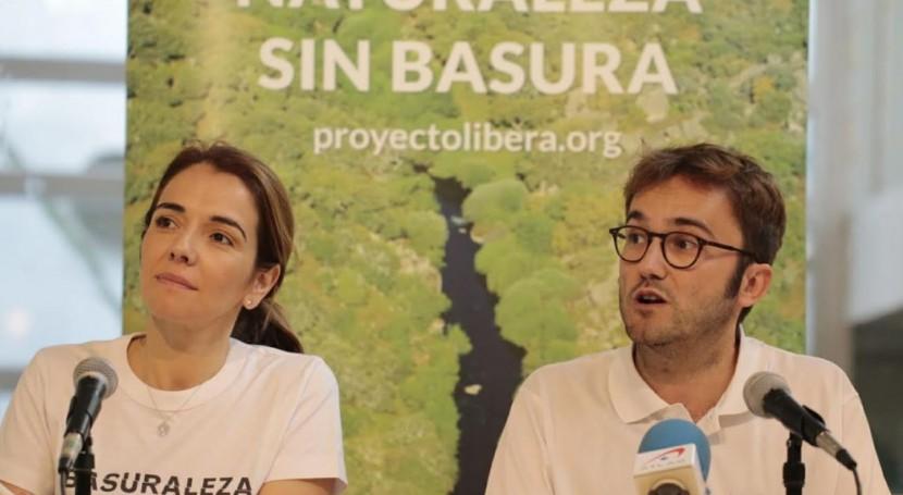 Más 340 puntos toda España luchan basuraleza '1m2 naturaleza'
