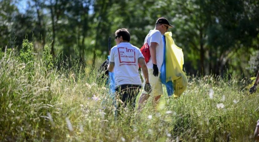 '1m2 naturaleza' recoge más 80 toneladas basuraleza espacios naturales España