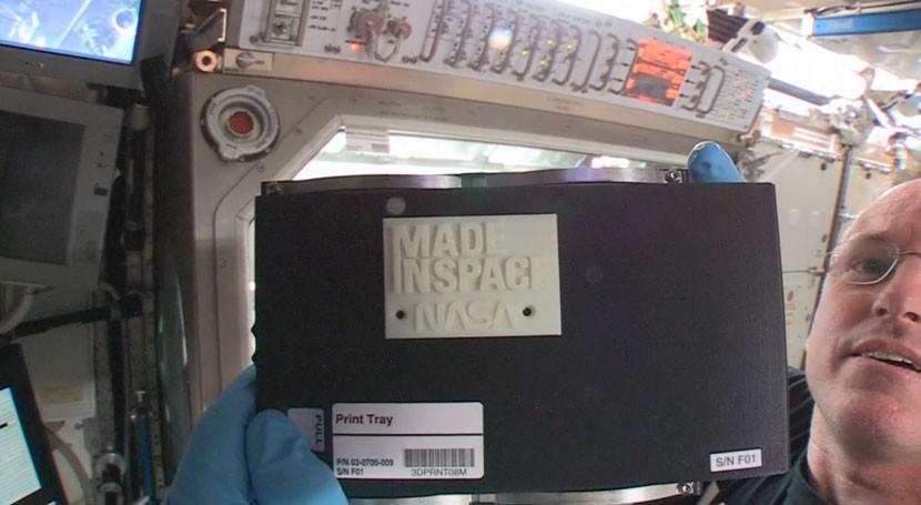 Plástico verde, bioplástico partir caña azúcar impresión 3D misiones espaciales