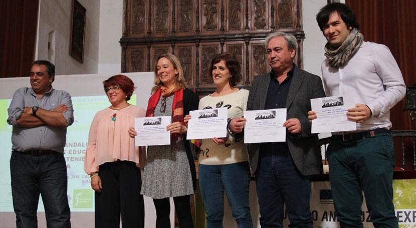 Otorgados premios V Certamen Buenas Prácticas Educación Ambiental Andalucía