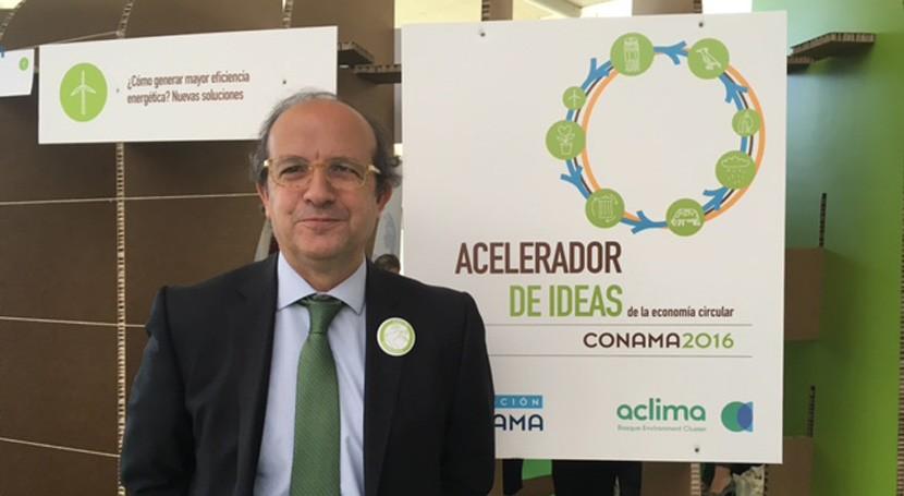 """Daniel Calleja: """"Conama es congreso que podría exportarse otros países europeos"""""""