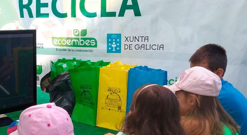 Aula Naturaleza Río Miño, nuevo escenario campaña reciclaje Galicia