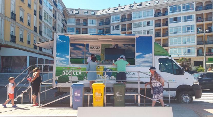 campaña autonómica reciclaje llega Lugo