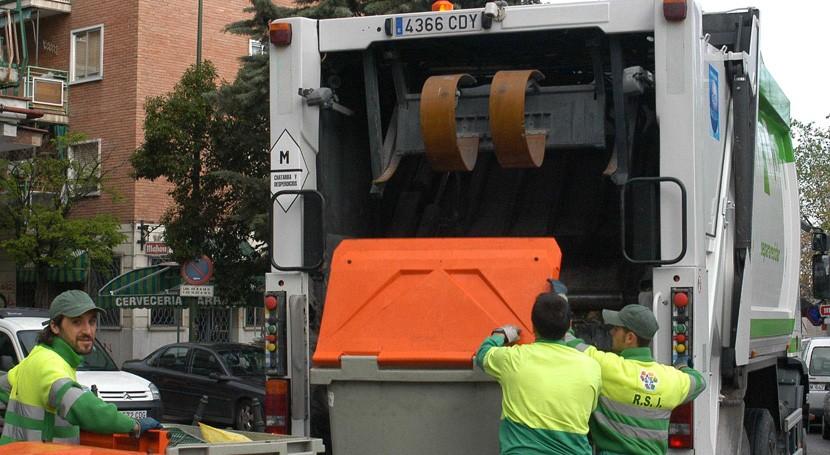 Madrid fija 50% servicios mínimos huelga basura