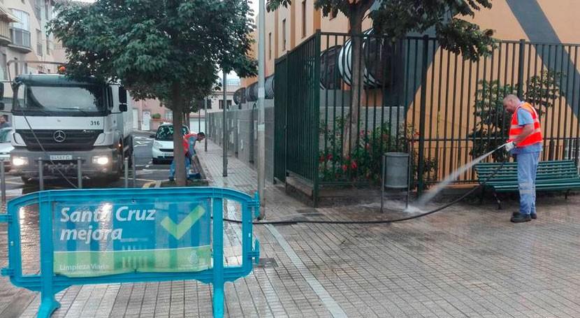 campaña especial limpieza Santa Cruz Tenerife llega Finca Multa