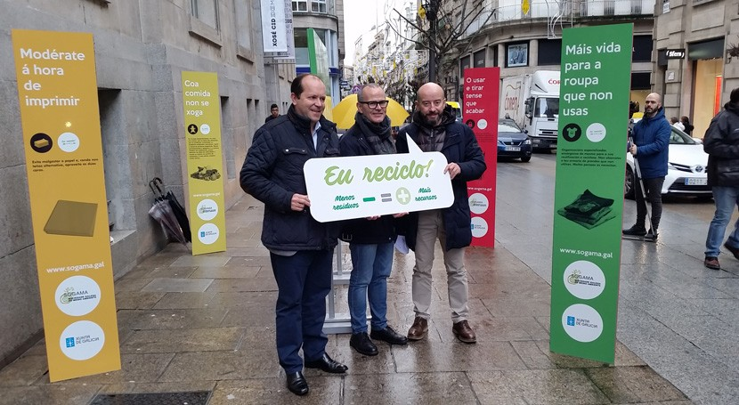 Menos Residuos = Más Recursos, campaña itinerante Sogama llega Ourense