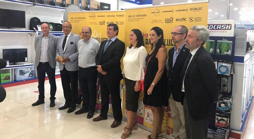 Extremadura presenta nueva campaña gestión RAEE