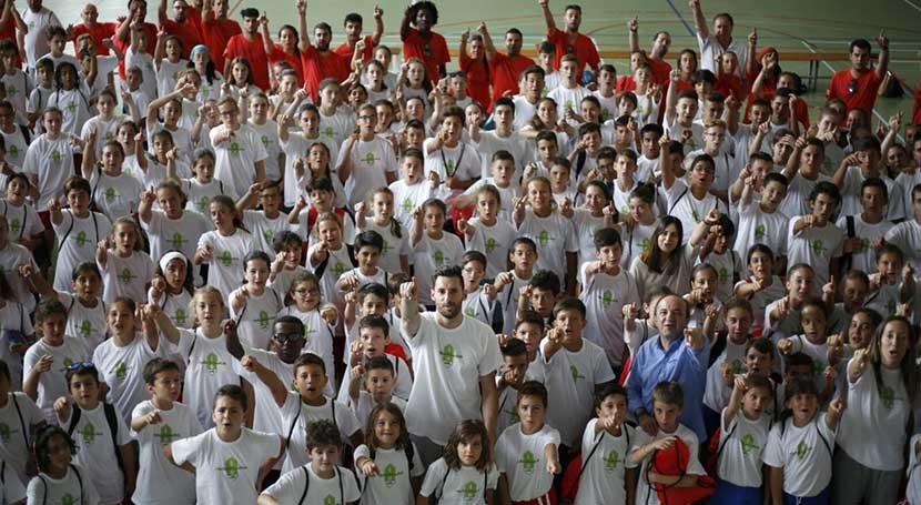 Gymkana Olimpiadas 3 R's vuelve al Campus Rudy Ecoembes