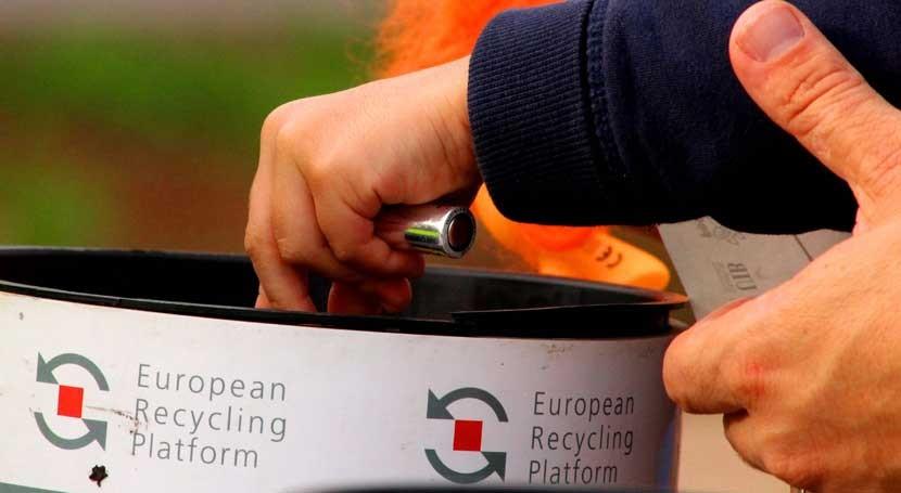 Cientos personas corren Mallorca reciclado pilas