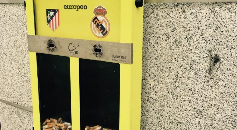 ¿ qué ha hecho Madrid cenicero equipos fútbol?