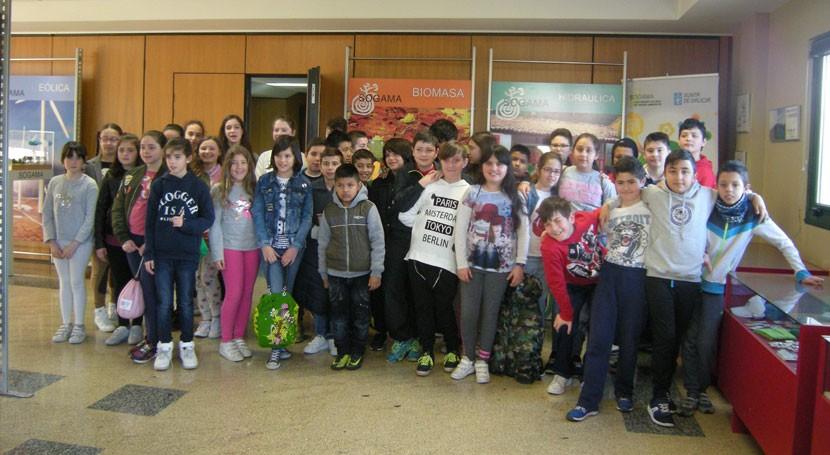 200 escolares Arteixo visitan instalaciones Sogama últimos días