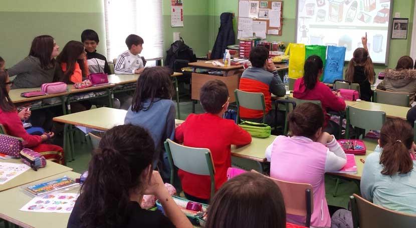 """3.000 escolares recibirán clases reciclaje mano campaña """"Oportunidades Galicia"""""""