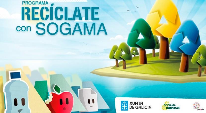 "colegio Divina Pastora Ourense, ganador programa ""Recíclate Sogama"" 2017-2018"