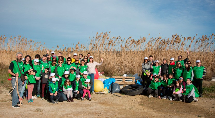 Voluntariado Verde Cicloplast organiza actividad sensibilización ambiental