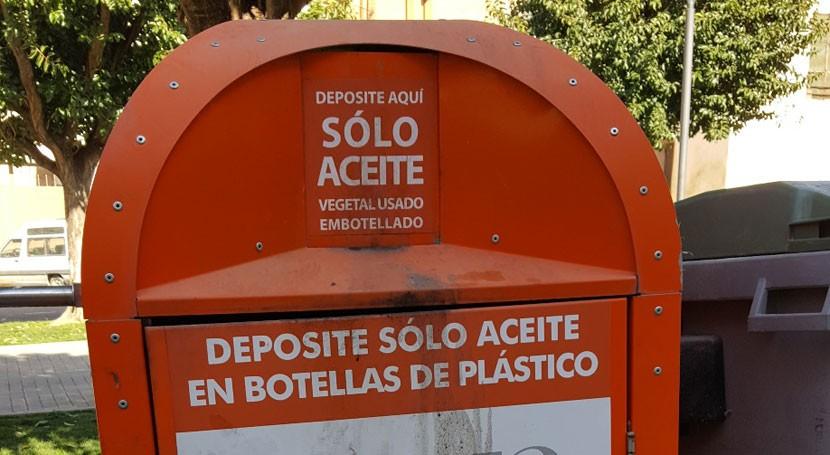 Reciclado aceite doméstico y punto limpio, nuevos proyectos Comarca Cinca