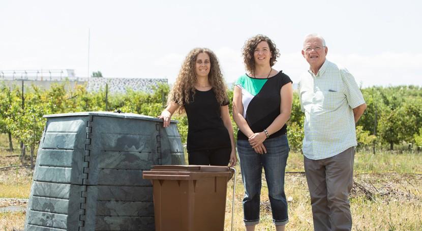 UPNA realiza prueba que ha permitido reducir residuos orgánicos mediante compostaje
