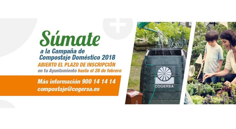 Abierto plazo inscripción campaña compostaje doméstico 2018 Asturias