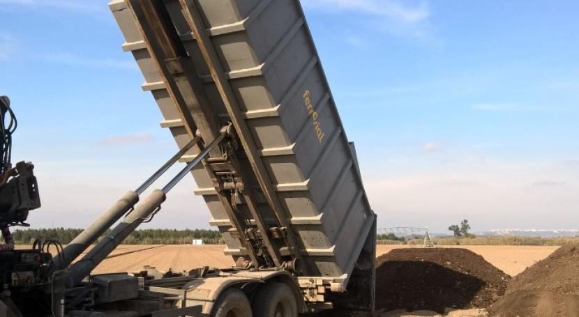 Ferrovial Portugal comercializará Terra Mais, compuesto lodos depuradora compostados