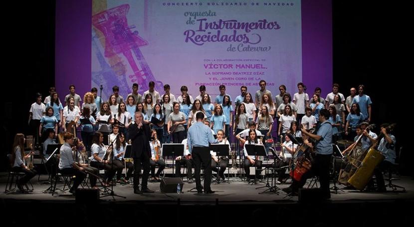 Teatro Jovellanos acoge Orquesta Instrumentos Reciclados Cateura