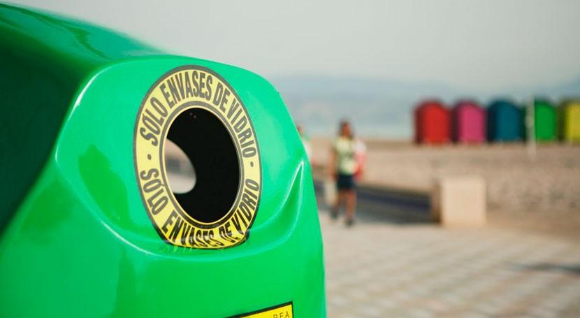 Más 2.500 bares y restaurantes andaluces apuestan reciclaje vidrio verano