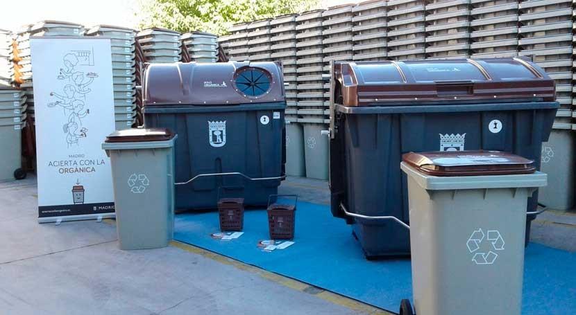 Madrid fomenta recogida basura orgánica