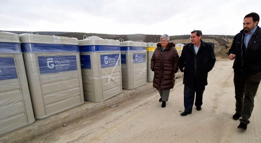 Granada incorpora 3.200 contenedores red provincial recogida selectiva residuos