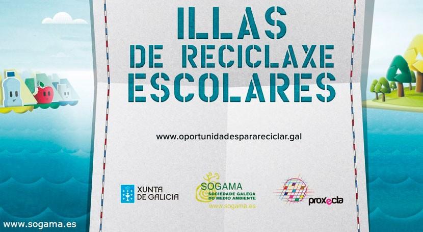 """Convocados premios escolares quinta edición programa """"Recíclate Sogama"""""""