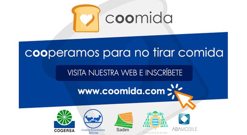 Asturias impulsa Coomida, herramienta tecnológica donación excedentes alimentarios