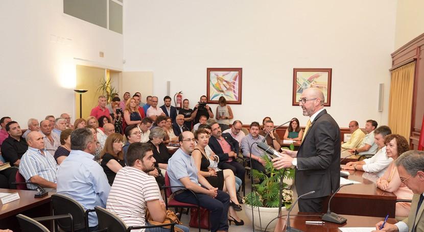 Pedro Ángel Jiménez, reelegido presidente Mancomunidad Servicios Comsermancha
